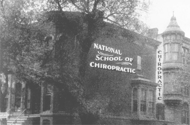 Photo of the National School of Chiropractic
