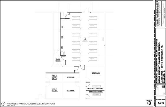 Phlebotomy Lab Floorplan