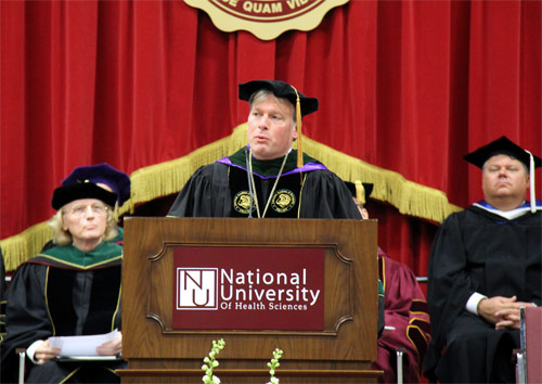 Photo of Commencement Speaker Dr. Michael P. Rowane
