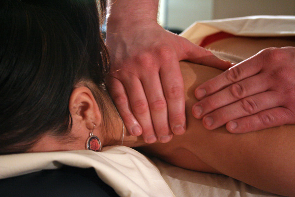 Photo of shoulder massage