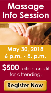 Massage Info Session information