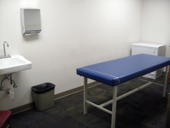 Photo of treatment room