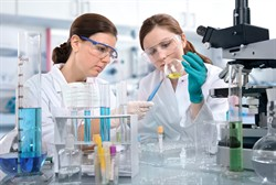 Females In Lab With Chemicals 2