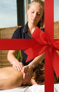 Massage With Ribbon