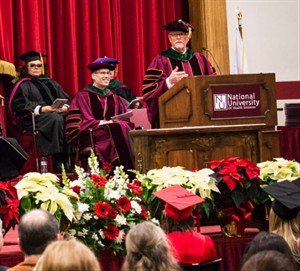 NUHS honors over 80 students in December Commencement