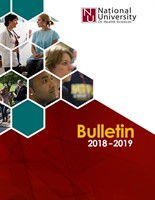 Bulletin 2018 - 2019 Front Cover