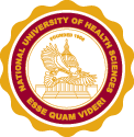 national university of health sciences seal