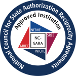 NC SARA approved institution logo round
