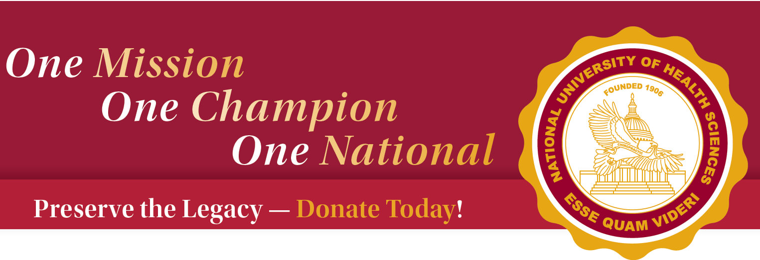 one mission one champion one national donation banner