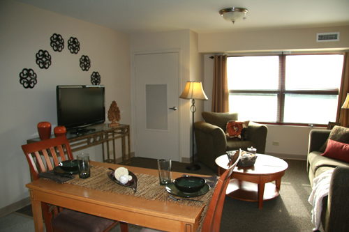 residence hall dining area